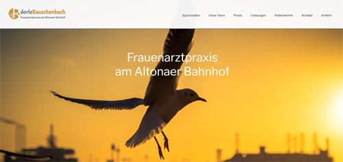 Vorschau Praxis Website