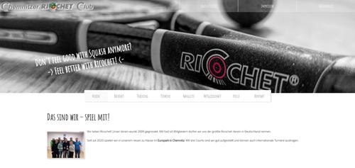 Vorschau Website Sport und Verein